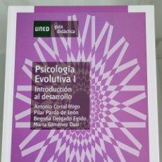 Libros: PSICOLOGÍA EVOLUTIVA I INTRODUCCIÓN AL DESARROLLO. UNED.. Lote 258081390