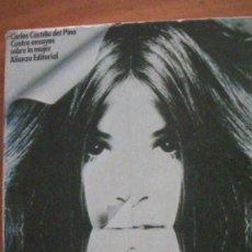 Libros: CUATRO ENSAYOS SOBRE LA MUJER / CARLOS CASTILLA DEL PINO / ALIANZA 1974. Lote 259258340