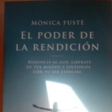 Libros: EL PODER DE LA RENDICIÓN. Lote 263220625