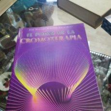Libros: EL PODER DE LA CROMOTERAPIA, CONOCIMIENTO DE LA LUZ DE COLOR, JOSÉ ANTONIO MARTÍNEZ VILLASTRIGO. Lote 263244160