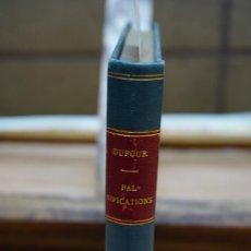 Libros: DUFOUR. L PETIT DICTIONNAIRE DES FALSIFICATIONS.. Lote 269645863
