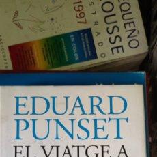 Libros: EDUARD PUNSET EL VISTE A L, AMOR. Lote 276252613