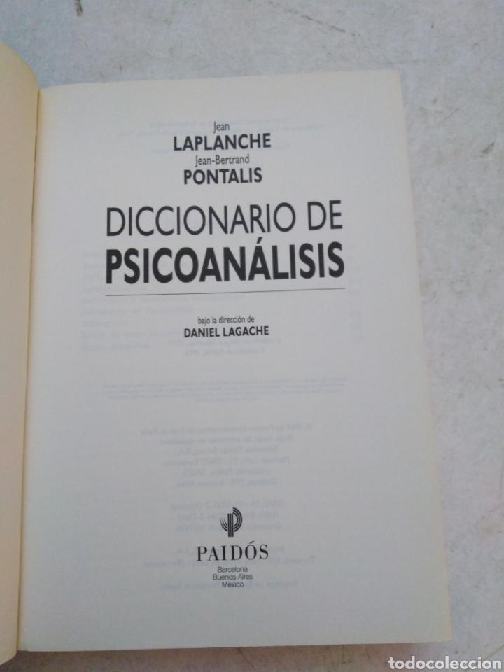 Libros: Diccionario de Psicoanálisis - Foto 3 - 277198623