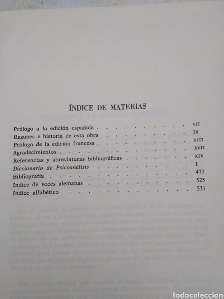 Libros: Diccionario de Psicoanálisis - Foto 5 - 277198623