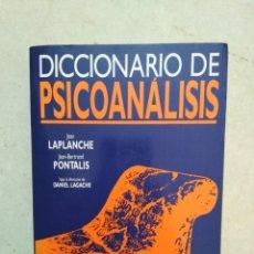 Libros: DICCIONARIO DE PSICOANÁLISIS. Lote 277198623