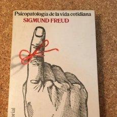 Libros: PSICOPATOLOGÍA DE LA VIDA COTIDIANA. Lote 278538118