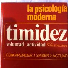 Libros: PSICOLOGÍA MODERNA TIMIDEZ VOLUNTAD ACTIVIDAD. Lote 280865698