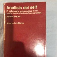 Libros: ANÁLISIS DEL SELF HEINZ KOHUT. Lote 280866953