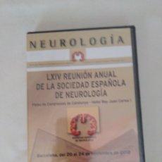 Libros: LX1V REUNION ANUAL DE LA SOCIEDAD ESPAÑOLA DE NEUROLOGÍA, BARCELONA 11/2012,DVD NUEVO Y PRECINTADO. Lote 280964138