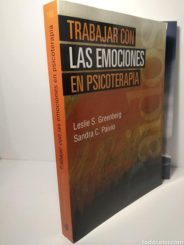 SANDRA C. PAIVIOY GREENBERG. TRABAJAR CON LAS EMOCIONES EN PSICOTERAPIA PSICOLOGÍA PSIQUIATRÍA (Libros Nuevos - Ciencias, Manuales y Oficios - Psicología y Psiquiatría )