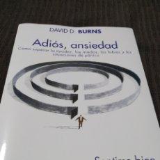 Livres: ADIÓS, ANSIEDAD. Lote 287620733