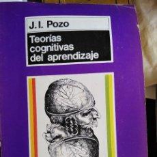 Libros: LIBRO TEORIAS COGNITIVAS DEL APRENDIZAJE. Lote 287804898