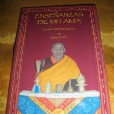 Libros: ENSEÑANZAS DE MI LAMA. GUESHE TAMDING GYATSO. RECOPILADO POR ISIDRO GORDI. EDICIONES AMARA. Lote 49418377
