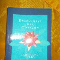 Libros: ENSEÑANZAS DEL CORAZON. TARTHANG TULKU. EDICIONES LA LLAVE. Lote 56743413
