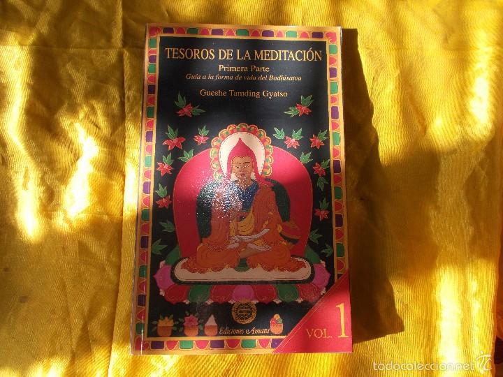 TESOROS DE LA MEDITACION. VOL 1. GUESHE TAMDING GYATSO. EDICIONES AMARA (Libros Nuevos - Humanidades - Religión)