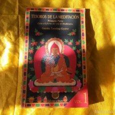 Libros: TESOROS DE LA MEDITACION. VOL 1. GUESHE TAMDING GYATSO. EDICIONES AMARA. Lote 57218863