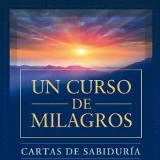 Libros: CARTAS DE SABIDURÍA DE UN CURSO DE MILAGROS GAIA EDICIONES. Lote 70732397