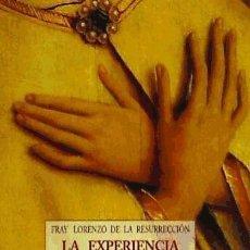 Libros: EXPERIENCIA DE LA PRESENCIA DE DIOS. Lote 70768515