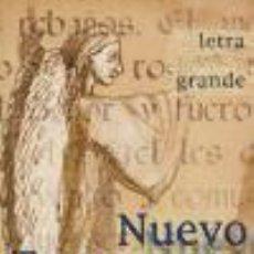 Libros: NUEVO TESTAMENTO. L. GRANDE. PLASTICO. Lote 70877727
