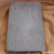 Libros: SAGRADA BIBLIA AÑO 1960. Lote 91453515