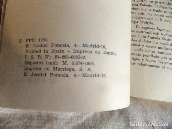 Libros: Carta Apostolica Juan Pablo II : Sentido Cristiano del Sufrimiento Humano 1984 - Foto 2 - 94931423