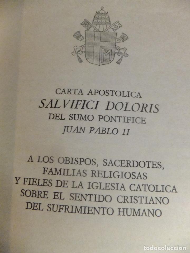 Libros: Carta Apostolica Juan Pablo II : Sentido Cristiano del Sufrimiento Humano 1984 - Foto 3 - 94931423
