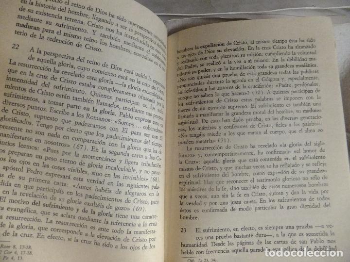 Libros: Carta Apostolica Juan Pablo II : Sentido Cristiano del Sufrimiento Humano 1984 - Foto 4 - 94931423