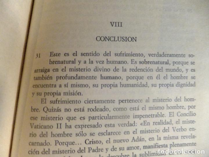 Libros: Carta Apostolica Juan Pablo II : Sentido Cristiano del Sufrimiento Humano 1984 - Foto 5 - 94931423