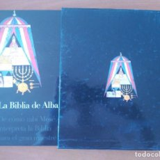 Libros: BIBLIA DE ALBA. FACSIMIL ED. SOMOGY 2001.. Lote 96666887