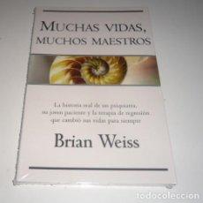 Libros: MUCHAS VIDAS, MUCHOS MAESTROS POR BRIAN WEISS. Lote 96882583