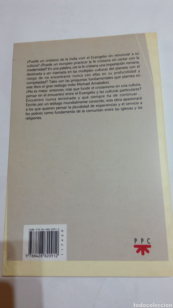 Libros: Libro Al encuentro de las culturas. Michael Amaladoss. PPC. 2008 - Foto 2 - 105216967