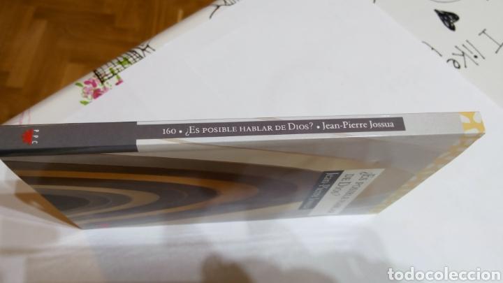 Libros: Libro ¿Es posible hablar de dios? Jean-Pierre Jossua. PPC. N°160 - Foto 3 - 105217814