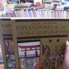 Libros: ESPLENDORES DE LAS ANTIGUAS RELIGIONES, JACK FINEGAN, CULTURA E HISTORIA.. Lote 110563271