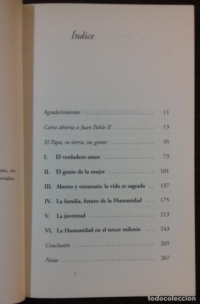Libros: ASÍ PIENSA EL PAPA: 150 PREGUNTAS A JUAN PABLO II - COVADONGA OSHEA - Foto 3 - 111740359