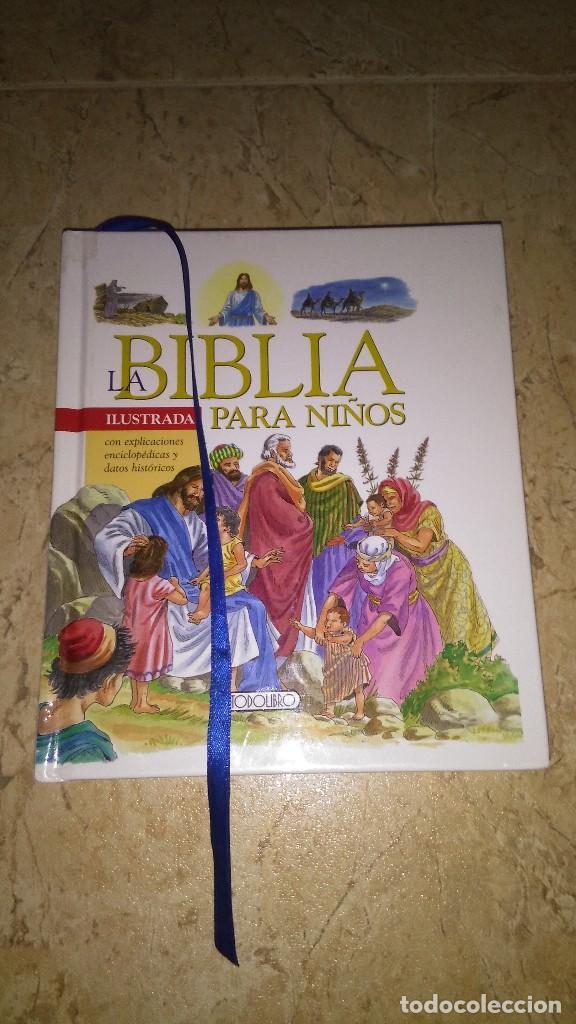 LA BIBLIA ILUSTRADA PARA NIÑOS , TODO LIBRO (Libros Nuevos - Humanidades - Religión)