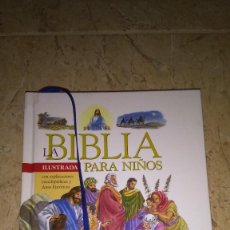 Libros: LA BIBLIA ILUSTRADA PARA NIÑOS , TODO LIBRO. Lote 113667467