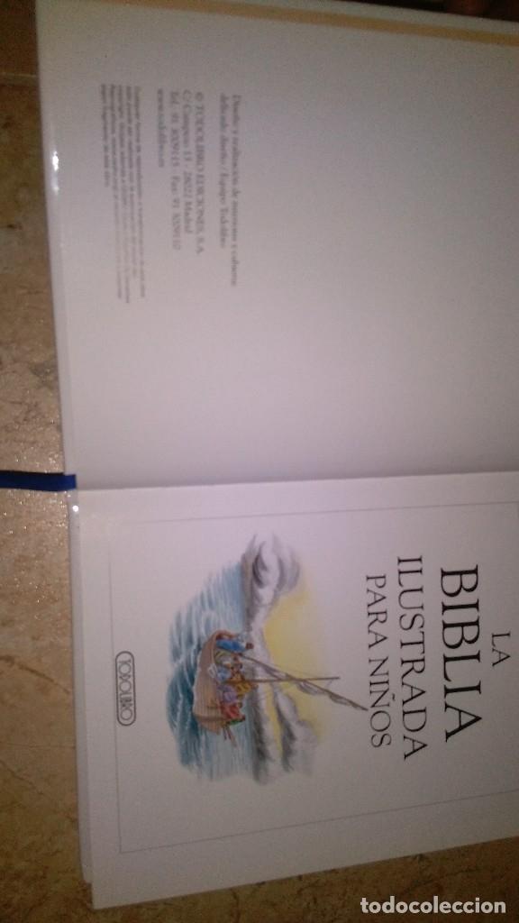 Libros: La biblia ilustrada para niños , todo libro - Foto 10 - 113667467