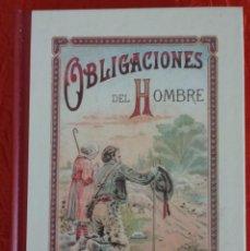 Libros: OBLIGACIONES DEL HOMBRE Y EL AMIGO DE LOS NIÑOS (LIBRO NUEVO). Lote 113868731