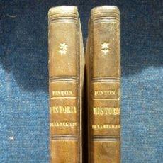 Libros: LIBROS DE LA HISTORIA DE LA RELIGIÓN. JOSÉ PINTÓN. 1864.. Lote 114419808