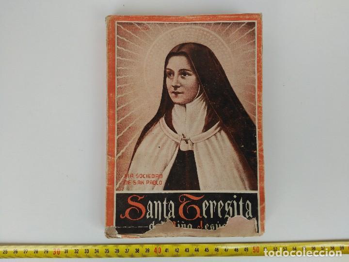 LIBRO SANTA TERESA DE JESÚS 1943 (Libros Nuevos - Humanidades - Religión)
