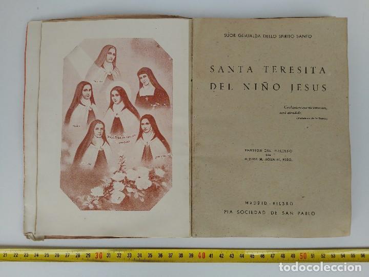 Libros: Libro Santa teresa de jesús 1943 - Foto 2 - 114729259
