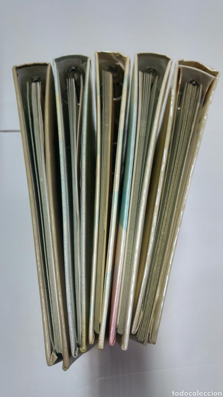 Libros: Lote 5 libro archivador de comunión completos. Resto de almacen años 80 - Foto 3 - 114887766