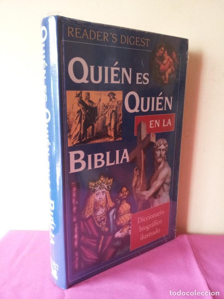 QUIEN ES QUIEN EN LA BIBLIA - DICCIONARIO BIOGRAFICO ILUSTRADO - READER'S DIGEST (PRECINTADO) (Libros Nuevos - Humanidades - Religión)