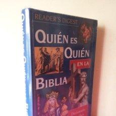 Libros: QUIEN ES QUIEN EN LA BIBLIA - DICCIONARIO BIOGRAFICO ILUSTRADO - READER'S DIGEST (PRECINTADO). Lote 116140171