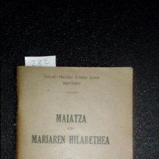 Libros: EUSKERA LABORTANO. LIBROS EN LENGUA VASCA. DEVOCIONARIO.. Lote 124221451