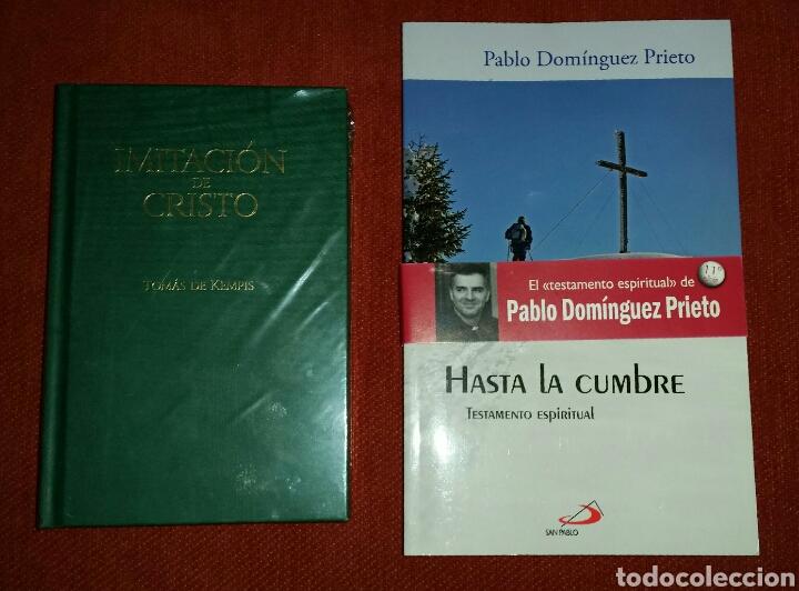 LOTE LIBROS: IMITACIÓN DE CRISTO - HASTA LA CUMBRE (Libros Nuevos - Humanidades - Religión)