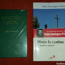 Libros: LOTE LIBROS: IMITACIÓN DE CRISTO - HASTA LA CUMBRE. Lote 126962152