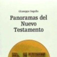 Libros: PANORAMAS DEL NUEVO TESTAMENTO EDITORIAL VERBO DIVINO. Lote 70780835