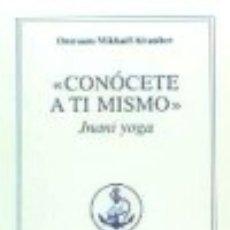 Libros: CONÓCETE A TI MISMO EDICIONES PROSVETA. Lote 70658190