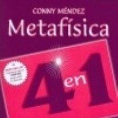 Libros: METAFÍSICA 4 EN 1. VOLUMEN I EDICIONES GILUZ. Lote 82316496